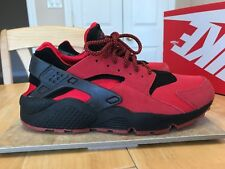 brand new c544b 10ffa item 6 NIKE AIR HUARACHE QS SIZE 10.5 MENS SNEAKERS 2014 700878 600 BLACK  RED LOVE HATE -NIKE AIR HUARACHE QS SIZE 10.5 MENS SNEAKERS 2014 700878 600  BLACK ...
