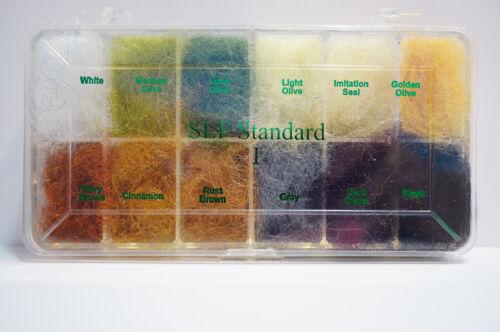 Wapsi Dispenser SLF Standard I Dubbing Box 12 Farben gedeckte Farben Box I