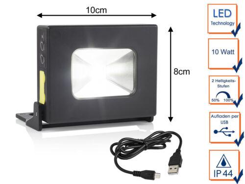 Powerbank Taschenlampe mit Magnet /& Notfalllampe LED Multifunktionsleuchte Akku