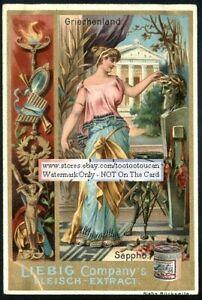 Sappho-of-Lesbos-Greece-Poet-Art-Nouveau-c1897-Trade-Ad-Card