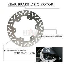 Motorcycle 220mm Rear brake disc Rotor For SUZUKI DR-Z 400 DRZ400 2000-2009