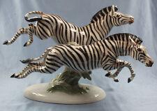 Porzellanfigur Zebra tier Figur Rosenthal Fritz Zebragruppe porzellan