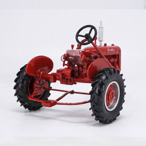 Details about 1:16 US ERTL Farmall B Case Tractor Red Alloy Agricultural  Truck Vehicles