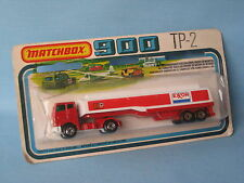 lesney Matchbox TP-900 Leyland Tanker Exxon Gas Petrol Blister Packed 150mm