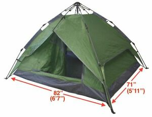 Stock photo  sc 1 st  eBay & Instant Automatic Pop up 4 Man Tent - Green | eBay