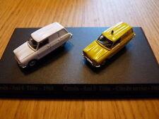 HO14 DUO voitures 1/87 HO universal Hobbies citroën : ami 6 break tolée