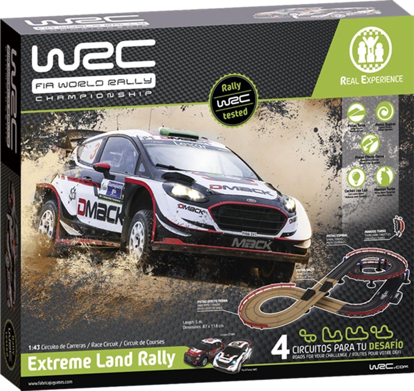 Fábica Fábica Fábica de Juguetes 91001. Circuito de escala 1 43 WRC Extreme Land Rally. 9a084e