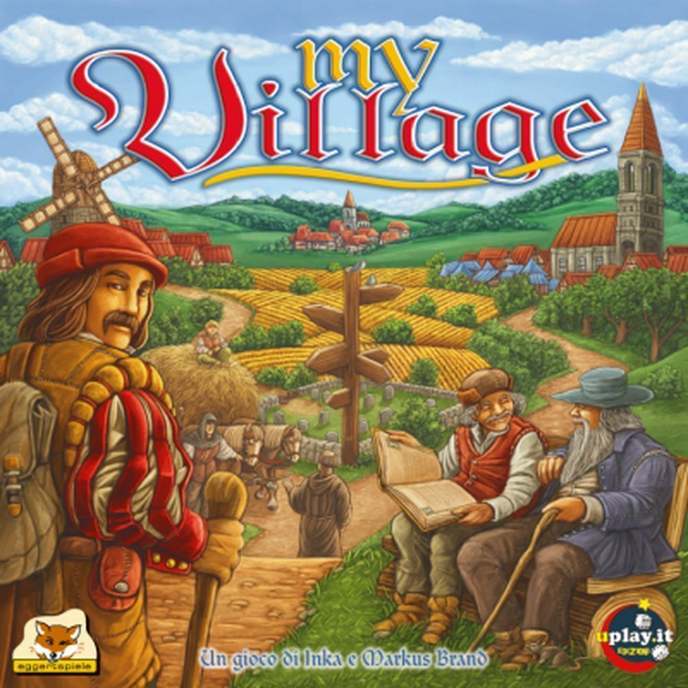My Village, Game table - New, UPLAY, Italiano