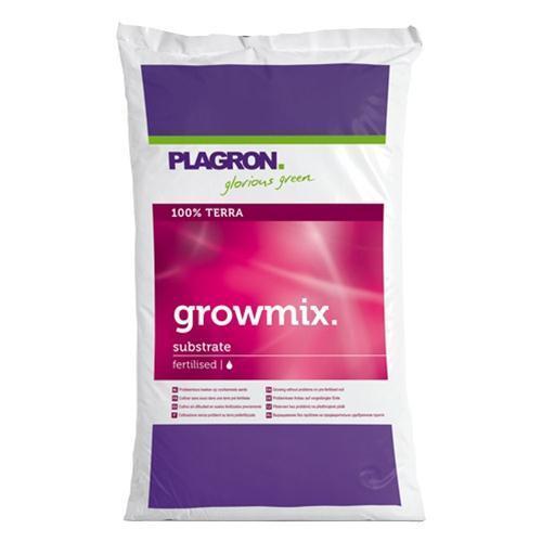 PLAGRON GROW MIX GROWMIX 50L SUBSTRATO TERRICCIO MEDIUM FERTILIZZATO PERLITE