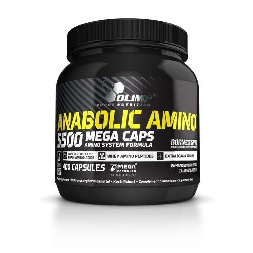 Anabolic Amino 5500 Olimp 2 x 400 Kapseln EUR8,23 100g + doppelte Menge +