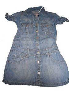 ungeschlagen x absolut stilvoll tolle Auswahl Details zu H & M zauberhaftes Jeans Kleid Gr. 122 !!