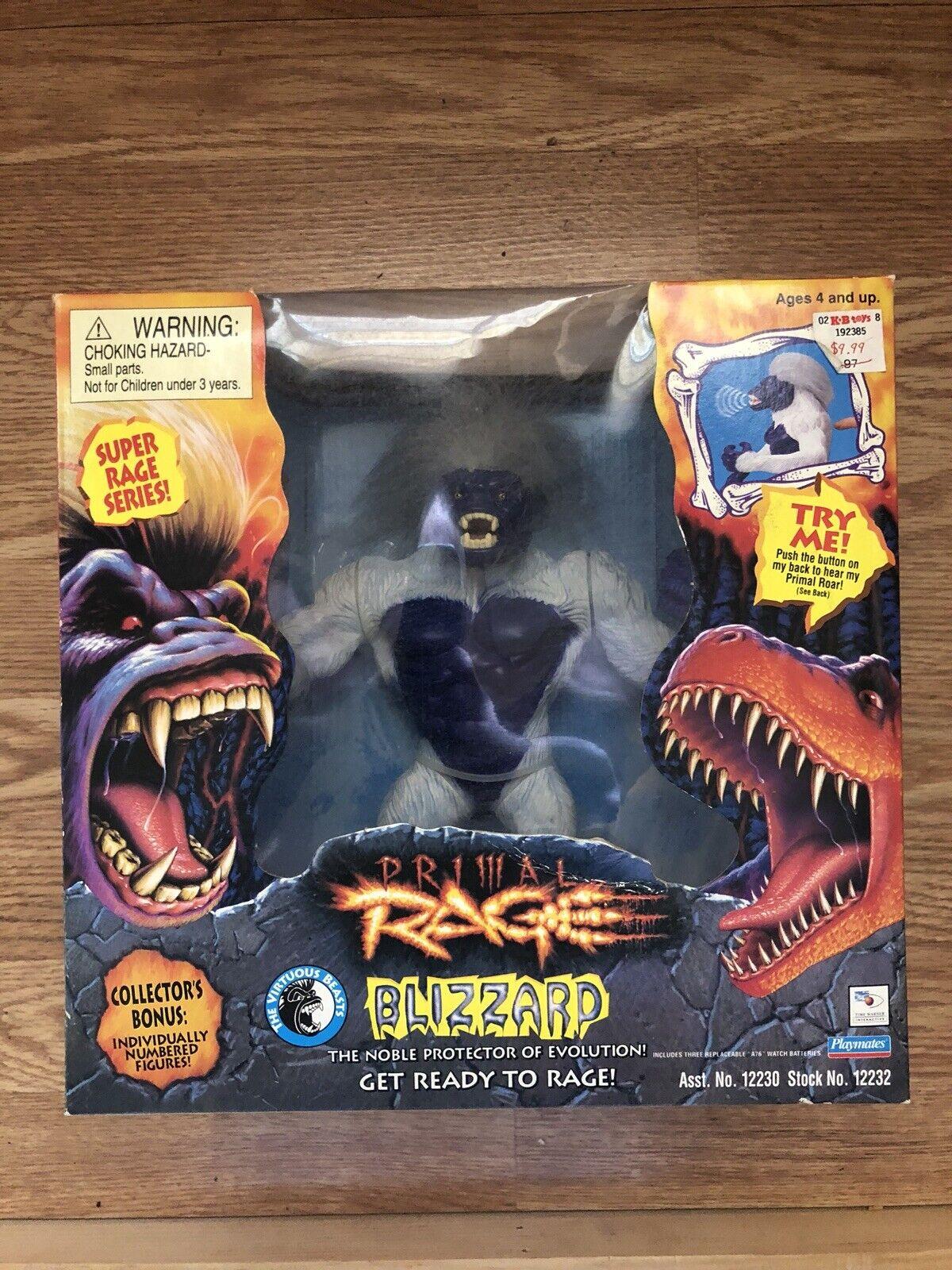 """Primal Rage Blizzard 12"""" Figure Super Rage Series"""