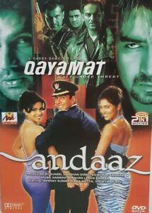 Double-2IN1-DVD-Qayamat-Andaaz-Bollywood-DVD-Suneel-Darshan-VMDVD-655
