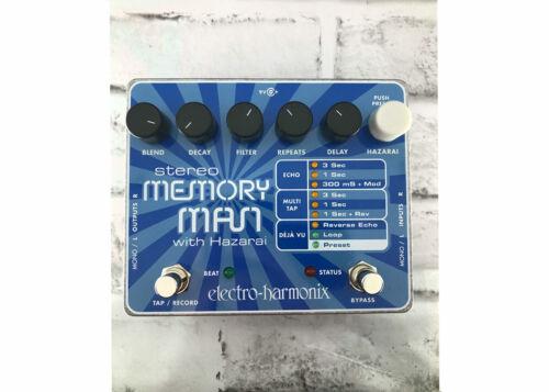 Used Electro-Harmonix Stereo Memory Man with Hazarai Delay FREE 2 DAY SHIP