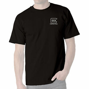 Glock-Series-Men-039-s-Tee-Black-Perfection-Short-Sleeve-T-Shirt-Sizes-AA1100