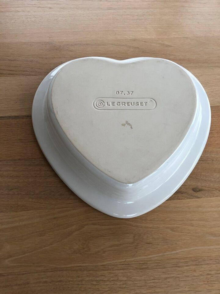 Keramik, Le creuset hjerteform, Le creuset