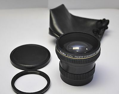 Kenko Japan 0.25x FISHYEY Converter Lens for Digital NIKON D3100 D5200 or CANON