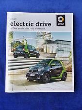 Smart electric drive fortwo forfour - Prospekt Brochure 03.2017