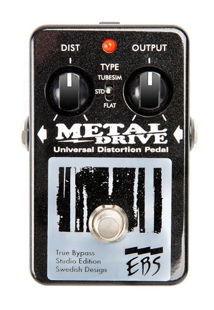 EBS Studio Edition Metal Drive High Gain Distortion   Overdrive pedal