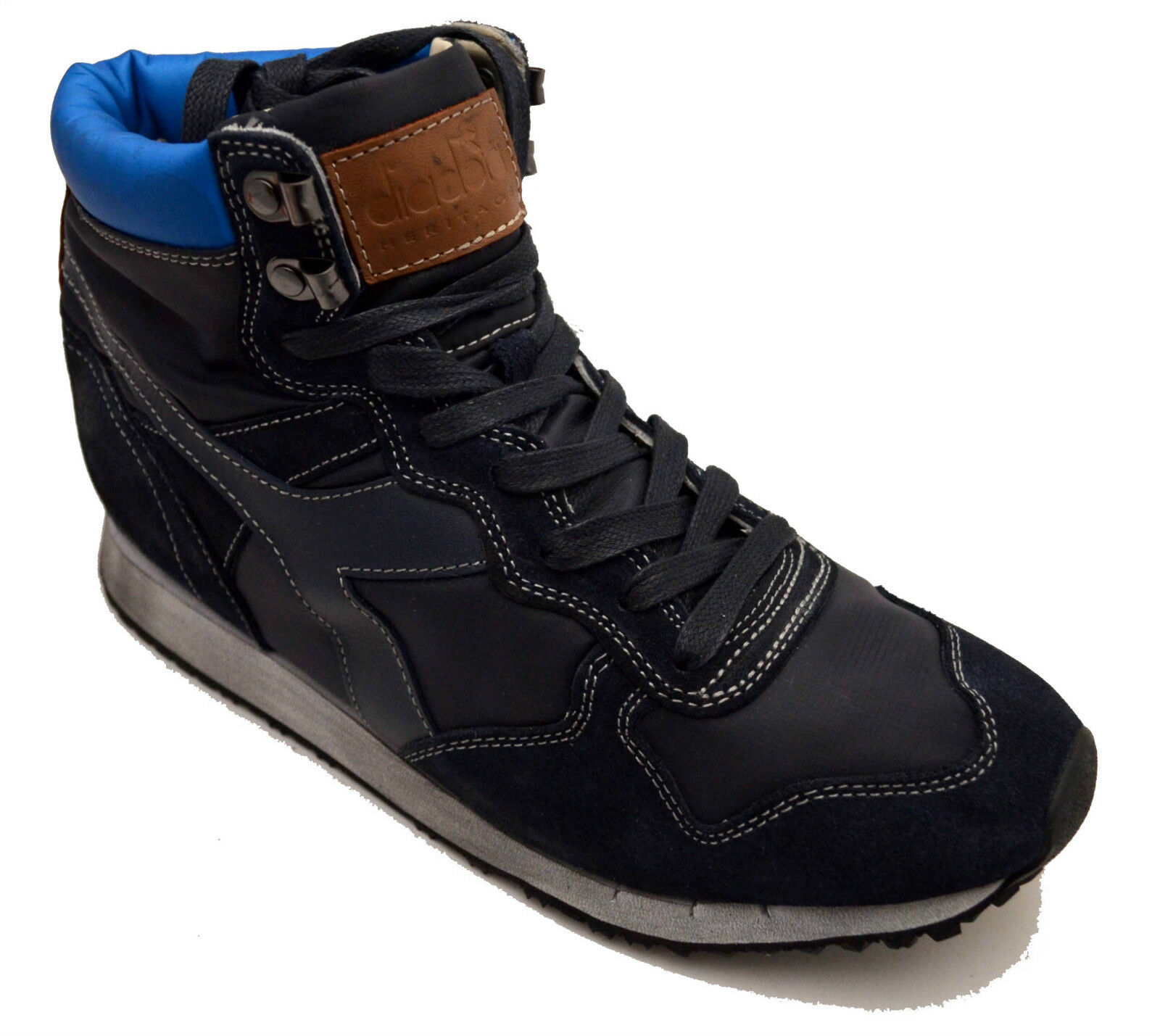 Diadora Heritage scarpe scarpe da ginnastica Pelle Vintage shoes 159225 Uomo Uomo Donna Donna 159225 shoes ba29a1
