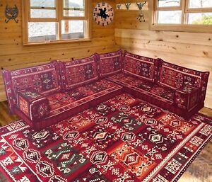 Majlis floor seating,corner sofa set,floor couch,living room sofa ...