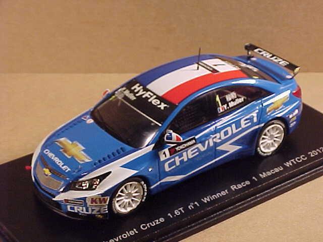 Spark 1 43 Resina Chevrolet Cruze 1.6t,Winner Race 1 2012 Macau Wtcc ,S2494