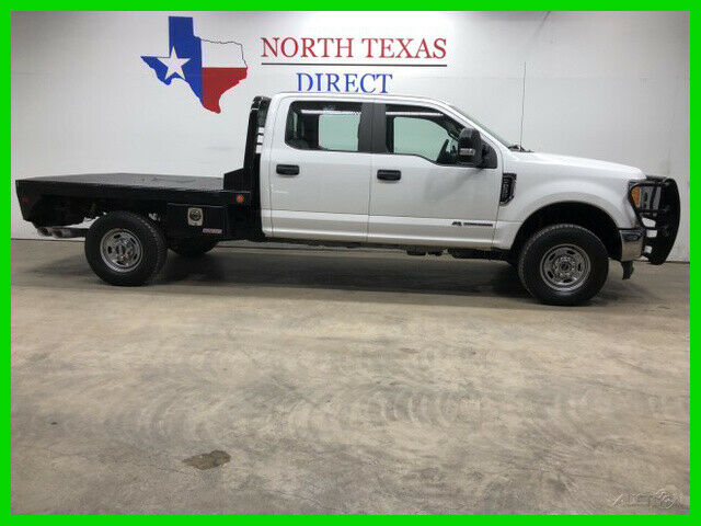 2017 Ford F-250 XL 4x4 Diesel Flatbed Ranch Hand Bluetooth 6 Passe