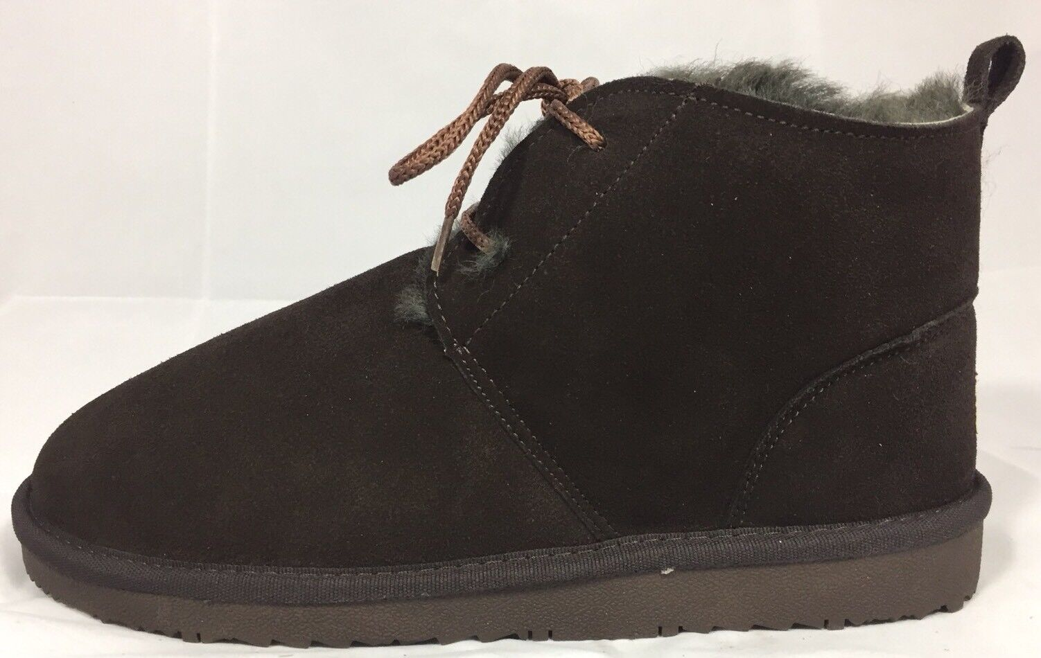 New AUABP Australia Mid Cut Boots Winter Women Choco Brown Leather Lining 11