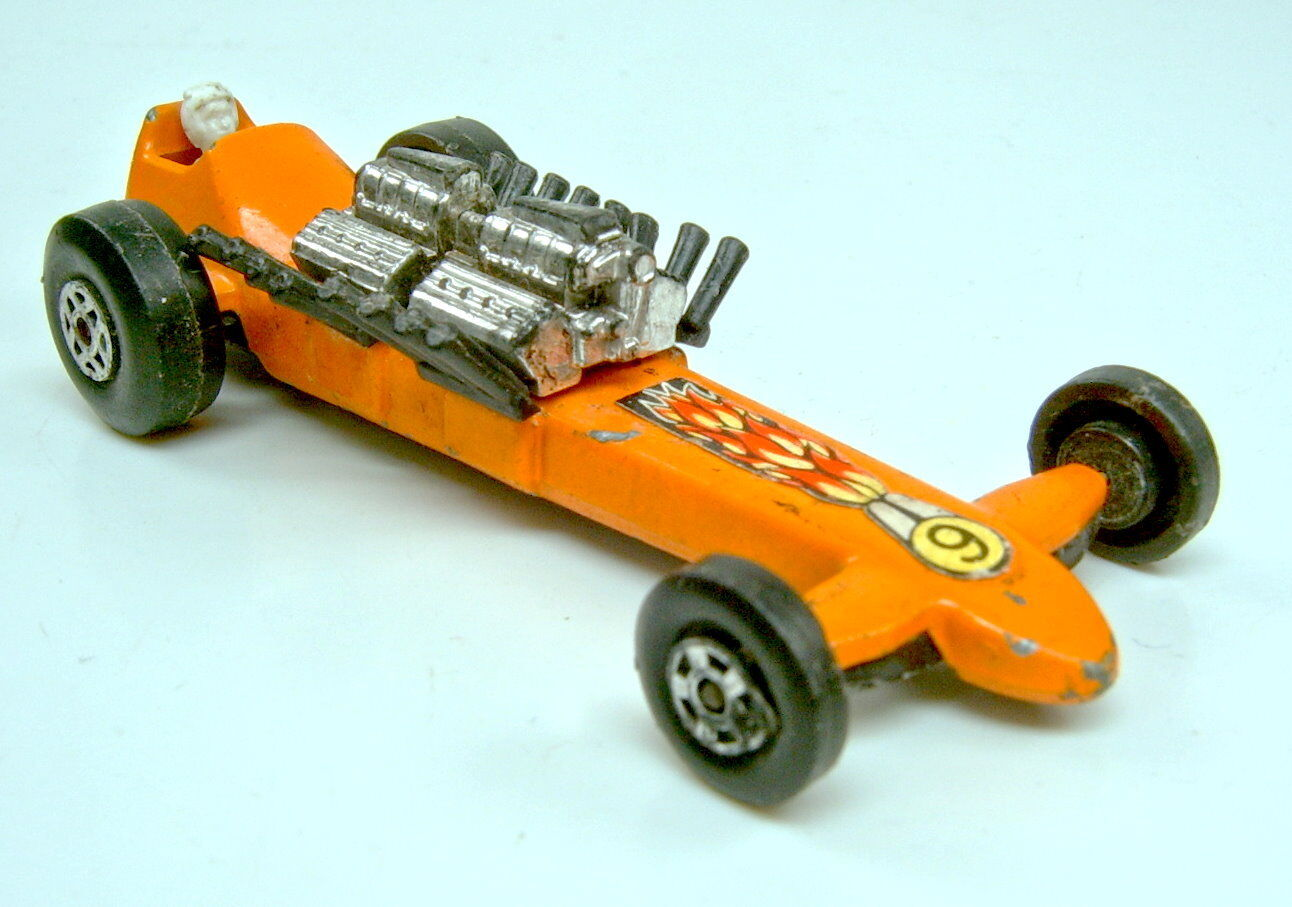 Matchbox Superfast Nr.64B Slingshot Dragster rare rare rare Farbe orange bc8ae9