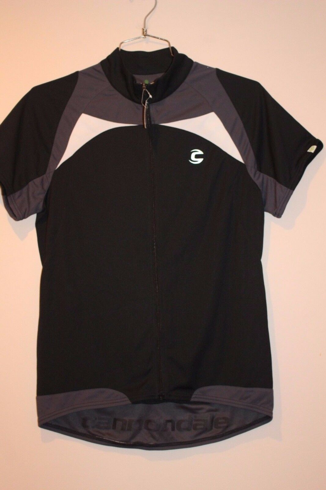 Cannondale Classic Men's Jersey  Size LARGE GREY BLK   NEW  wholesale price and reliable quality