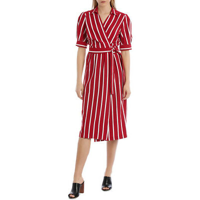 NEW Piper Wrap Stripe Dress Assorted