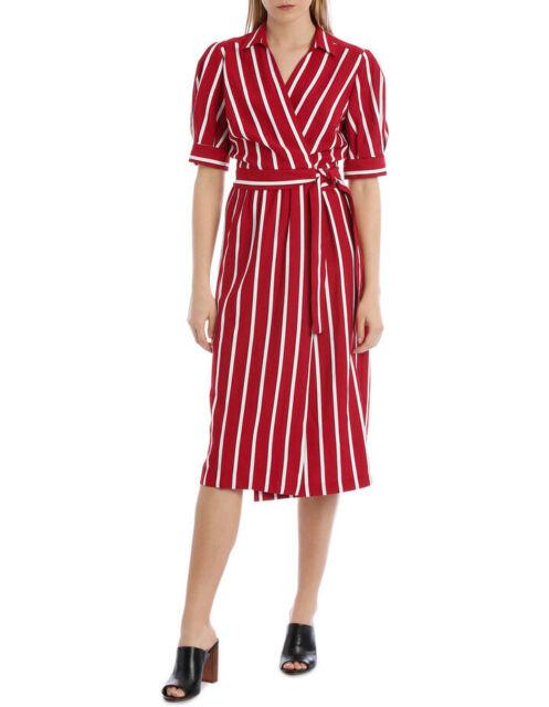 NEW Piper Wrap Stripe Dress Assorted