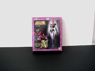 Bandai 2002 Soul Of Chogokin Gx-09 Mineva X 1^ Edizione Con Adesivo Mineva