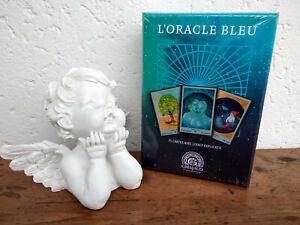 Oracle-Bleu-Grimaud-jeu-de-cartes-divinatoires-neuf-en-Francais-livret