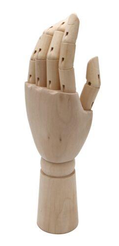 Gliederhand bewegliche Modellhand Holzhand 18 25 oder 30cm SAMAK-Holz FSC