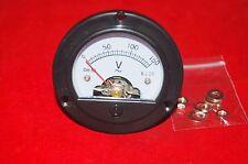 Ac 0 150v Analog Voltmeter Analogue Volage Panel Meter Dia 664mm Dh52