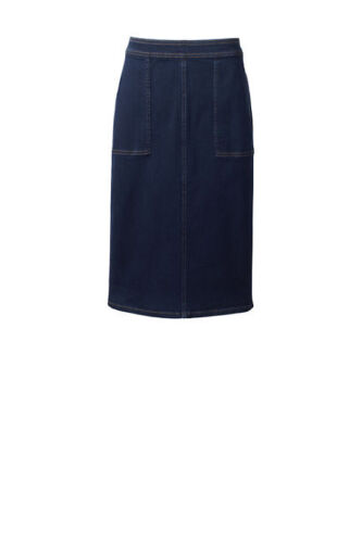 Novità Jean Dark Lands Women's Indigo End Pencil Skirt Wash 8wqHUq4