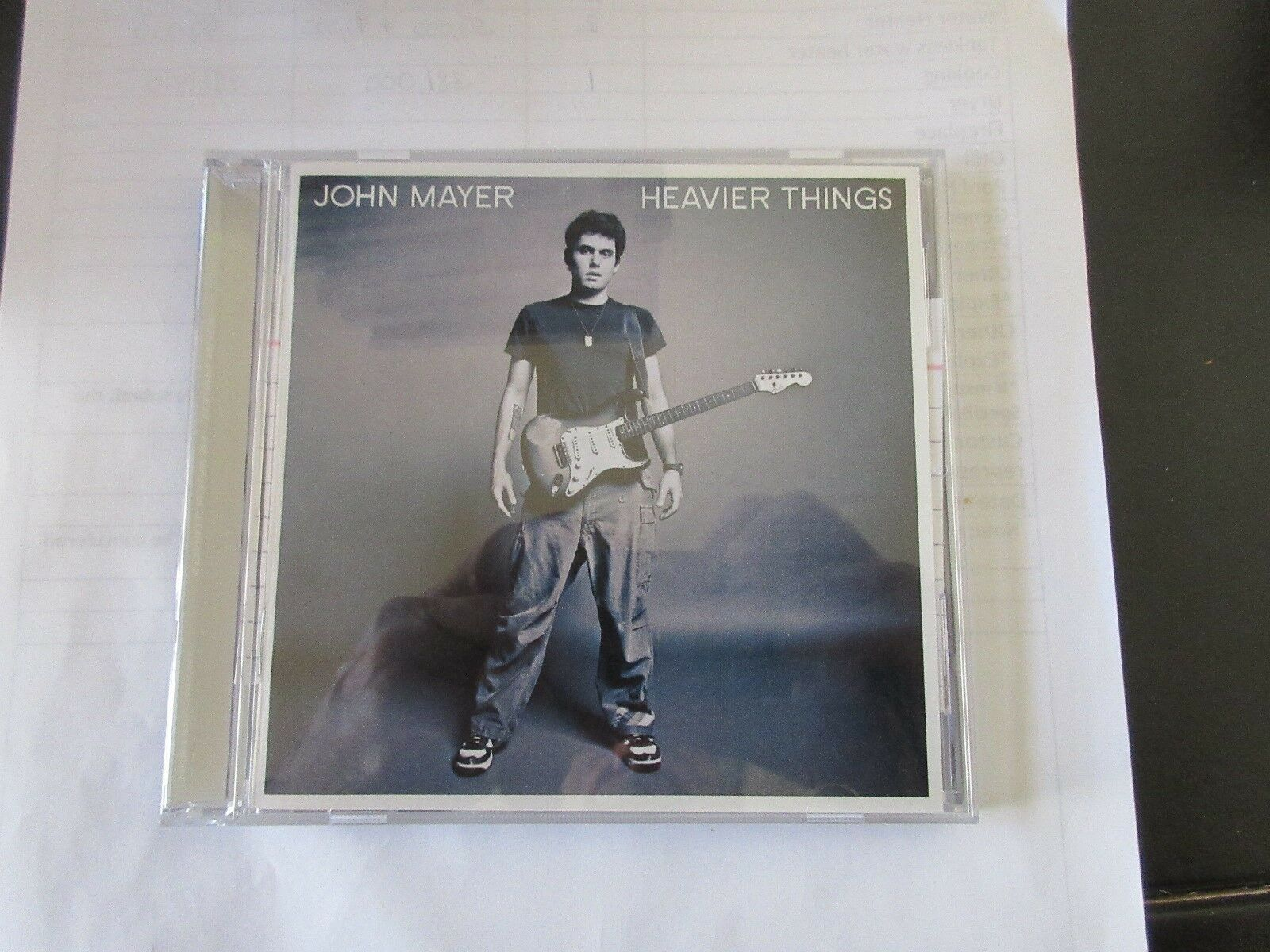 John Mayer , Heavier Things , CD