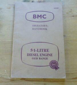Car-handbook-bmc-operation-5-1-litre-Diesel-engine-oeb-range-akd-1866-1961