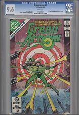 Green Arrow #1 CGC 9.6 DC 1983 Comic: