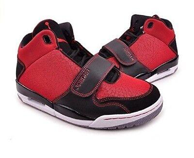 Jordan Flight Club 90 GS Basketball Shoe Gym Red Black Grey 602662-601..SB 4Y