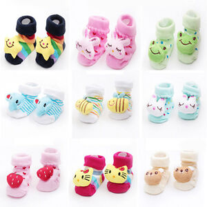 CHAUSSONS-BEBE-CHAUSSURES-CHAUSSETTES-ANTIDERAPANTES-FILLE-GARCON-0-a-6-MOIS