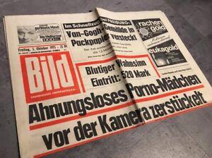 BILDzeitung 24.10.1975 Oktober Geschenk Geburtstag 44 45 46 Kennedy USA