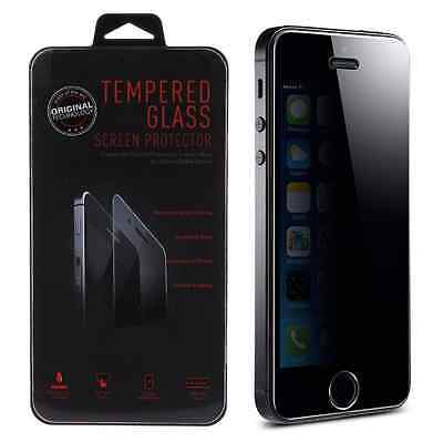 AntiSpy Peeping Privacy Tempered Glass Screen Protector for Apple iPhone 5 5C 5S