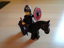 Spielzeug LEGO Ritter  Kämpfer schwarz ein Geschenk für Weihnachten wie neu