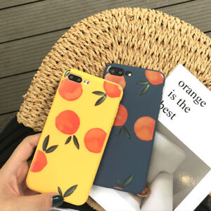 Retro-Style-Fruits-Painted-Soft-TPU-Phone-Case-Cover-for-Iphone-6-6s-7-8-Plus-X