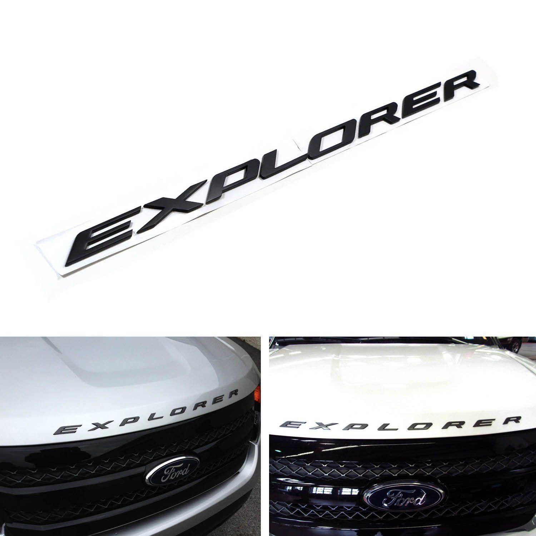 NEW OEM FORD 2011-2019 Explorer Sport Hood Emblem Letters Decal DB5Z-5842528-A