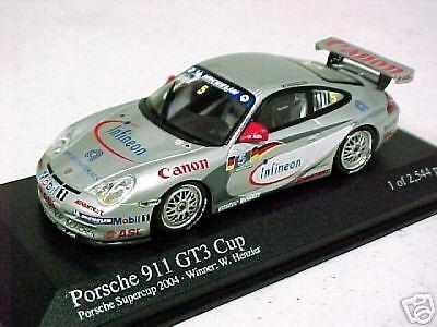 Porsche 911 GT3 winner cup 04 Henzler  1 43 MINICHAMPS