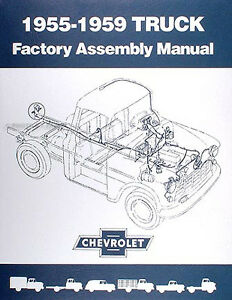 1955 1956 1957 1958 1959 Chevrolet Factory Assembly Manual CD