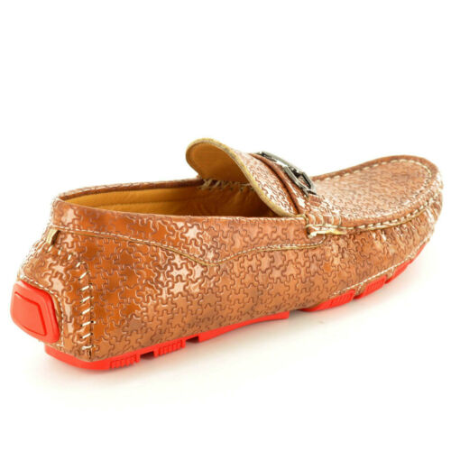 Hombre Informal Mocasines Deslizarse Conducción Zapatos Color Talla UK 7 8 9